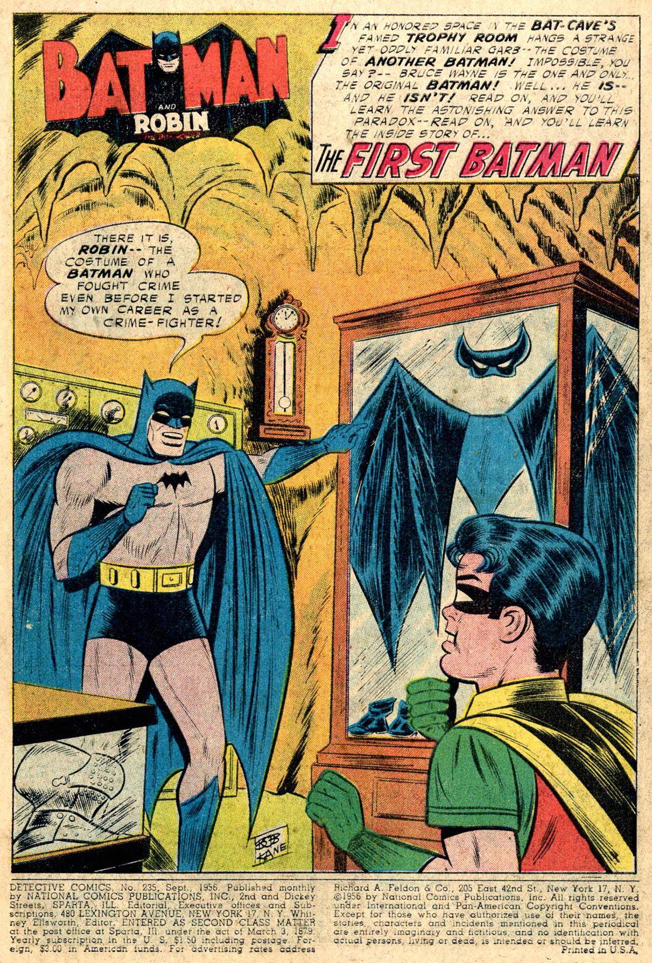 Le Premier Batman Dc1-3d377b6