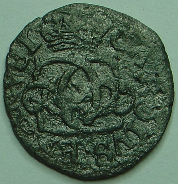 Mezzo soldo de Charles-Emmanuel II Avers-1-3aa8fd4
